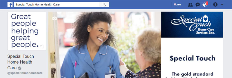 Special Touch Home Care Facebook Page